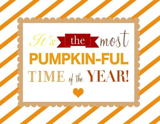 Pumpkinful Print