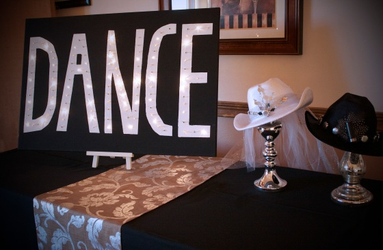 Bridal Shower Dance Sign