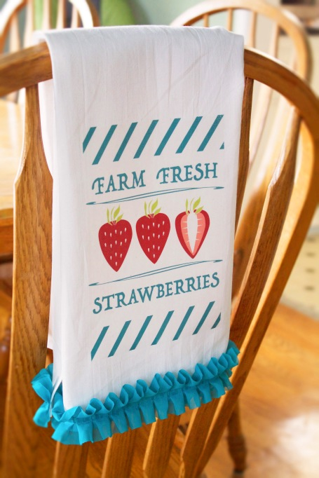 Strawberry towel copy